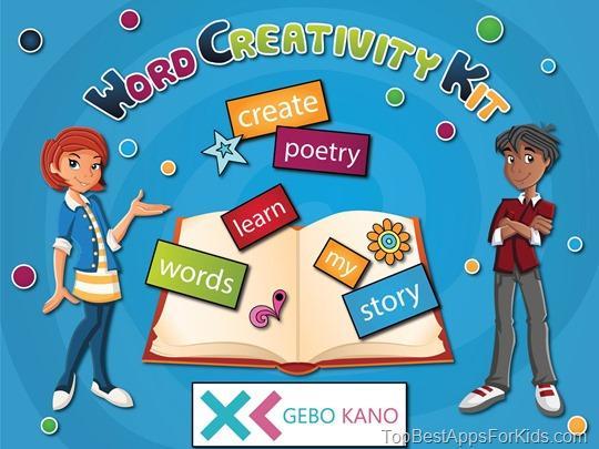 Word Creativity Kit app