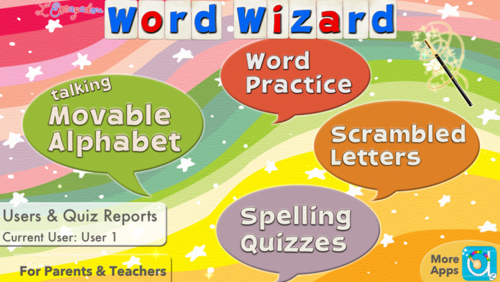Word Wizard for Kids app
