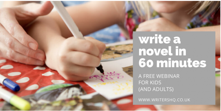 Write A Novel In 60 Minutes seminar for kids