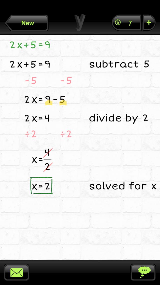 yHomework Math Solver app