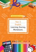 Year 3 English Learning Journey Pack