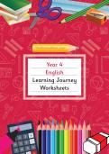 Year 4 English Learning Journey Pack
