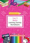 Year 5 Maths Learning Journey Pack