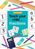 Teach your child fractions eBook cover