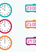 Telling the time on a 24-hour clock tutorial