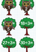 Division facts for the 3 times table tutorial