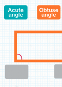 Identifying acute and obtuse angles tutorial