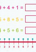 Adding three one digit numbers tutorial