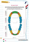 All about teeth worksheet