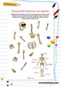 Boneyard Bill: build your own skeleton