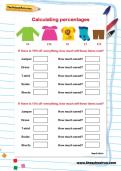 Percentages worksheets | TheSchoolRun