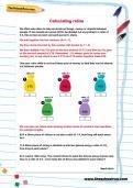 Calculating ratios worksheet