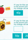 Finding change from one pound part 1 tutorial