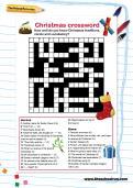 Christmas crossword puzzle