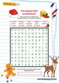 Christmas KS1 wordsearch