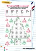 Christmas KS2 wordsearch