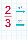 Comparing fractions with different denominators tutorial