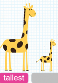 Comparing heights of different objects tutorial