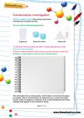 Condensation investigation worksheet