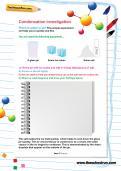 Condensation investigation worksheet