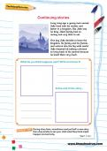 Continuing stories worksheet