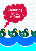 Counting in fives tutorial