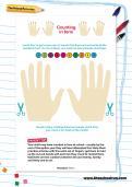 Counting in tens worksheet