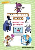 Crack that code spelling rules puzzle pack