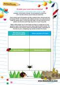 Create your own micro-habitat activity