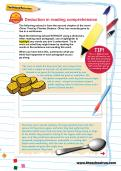 Deduction in reading comprehension worksheet
