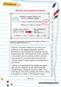 Definite and indefinite articles worksheet