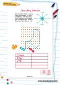 Describing direction worksheet