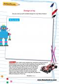 Design a toy activity