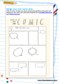 Design your own comic activity