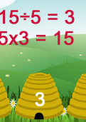 Learning division facts for the five times tables tutorial