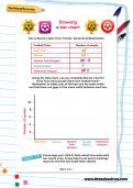 Drawing a bar chart worksheet
