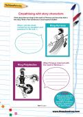 Empathising with story characters worksheet