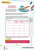 Estimating and measuring time worksheet