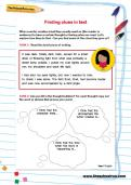 Finding clues in text worksheet
