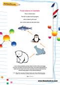 Food chains in habitats worksheet