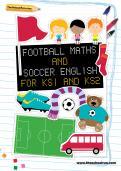 Football maths and soccer English for KS1 and KS2