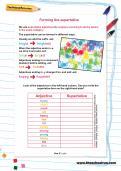 Forming the superlative worksheet