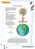 Gravity explained worksheet