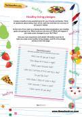 Healthy living pledges