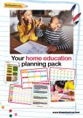 Home education planning pack TheSchoolRun