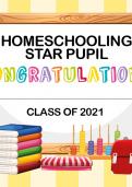 TheSchoolRun homeschooling achievement certificate