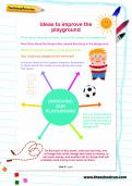 Ideas to improve the playground worksheet