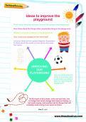 Ideas to improve the playground worksheet