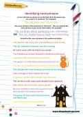 Identifying noun phrases worksheet