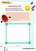 Illustrating a text worksheet